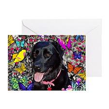 Abby Butt 35x21 Wall Peel-7700hx4900 Greeting Card