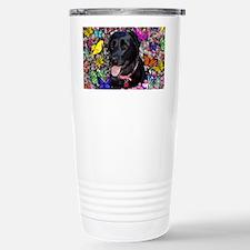 Abby the Black Labrador Travel Mug