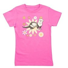 Sable Panda Ferret Girl's Tee