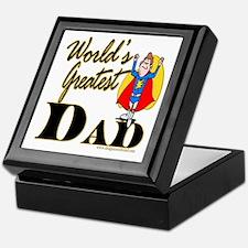 Super Dad Keepsake Box