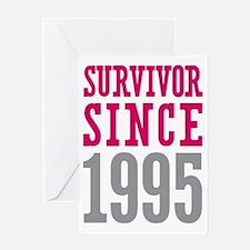 Survivor Since 1995 Greeting Card