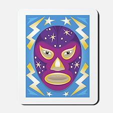 Luche Libre Star Man Mousepad
