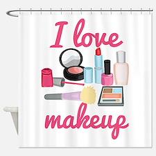 I love makeup Shower Curtain