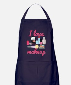I love makeup Apron (dark)