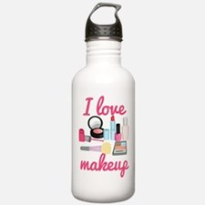 I love makeup Water Bottle