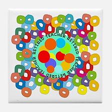 RT ABSTRACT PILLOW Tile Coaster