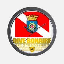 Dive Bonaire Wall Clock