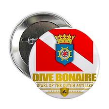 """Dive Bonaire 2.25"""" Button"""
