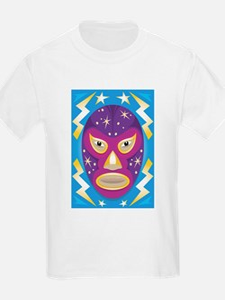 Luche Libre Star Man T-Shirt