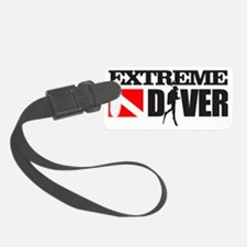 Extreme Diver 3 Luggage Tag