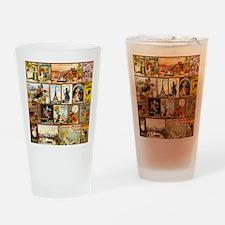Vintage Chocolate Advertisements Drinking Glass