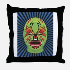 Luche Libre Bolt Throw Pillow