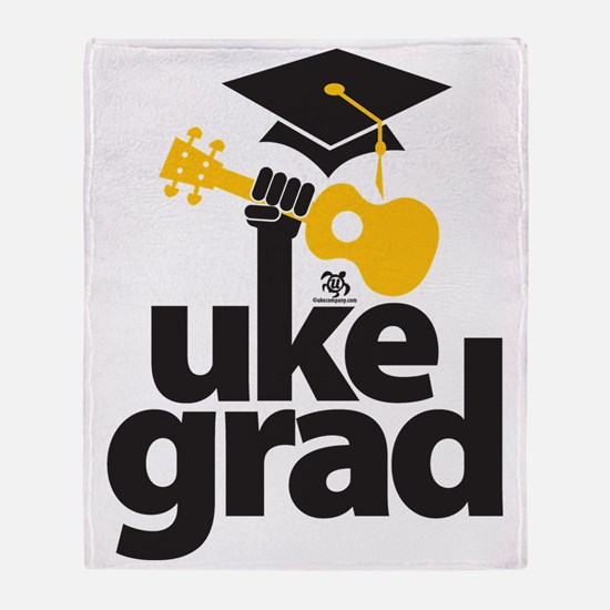 Uke Grad Throw Blanket