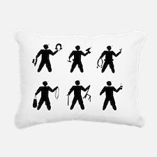 Universal Crew Identifie Rectangular Canvas Pillow