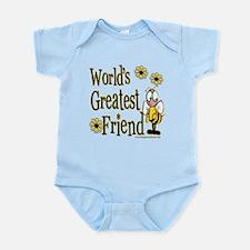 Friend Bumble Bee Infant Bodysuit