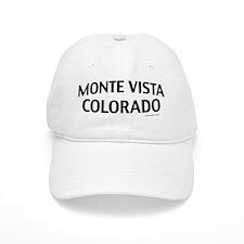 Monte Vista Colorado Baseball Cap
