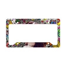 Lady the Brittany Spaniel in  License Plate Holder