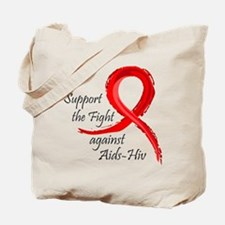 support AIDS-HIV Tote Bag