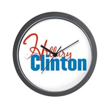 Hillary Clinton 2008 Wall Clock