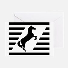 Norfolk and Southern thoroughbred ho Greeting Card