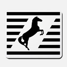 Norfolk and Southern thoroughbred horse  Mousepad