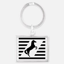 Norfolk and Southern thoroughbr Landscape Keychain