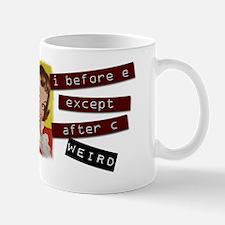 Funny Grammar Rule Mug