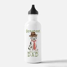 great dane dad1 Water Bottle