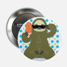 """Ice Cold Slothsicle 2.25"""" Button"""