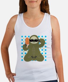 Ice Cold Slothsicle Women's Tank Top