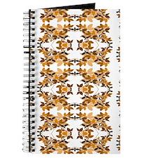 Leafy Brown Pattern Journal