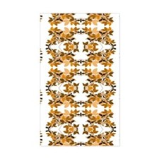 Leafy Brown Pattern Decal