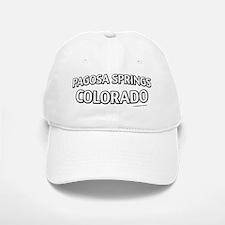 Pagosa Springs Colorado Baseball Baseball Cap
