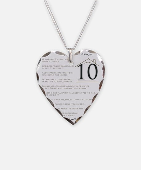 Top Ten Things to Know Necklace