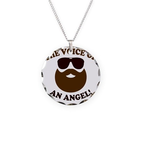 Hangover 3 Voice of an Angel Necklace Circle Charm