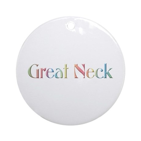 Great Neck Ornament (Round)
