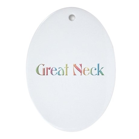 Great Neck Oval Ornament