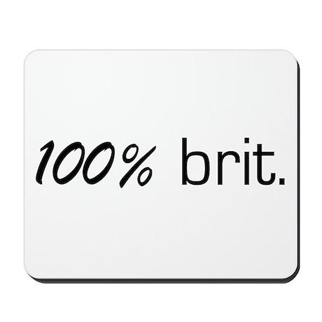 100% Brit Mousepad