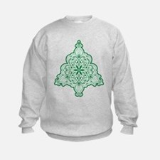 Lacy Christmas Tree Sweatshirt
