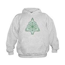 Lacy Christmas Tree Hoodie