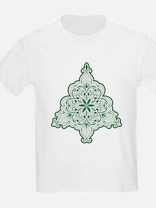 Lacy Christmas Tree T-Shirt