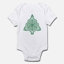 Lacy Christmas Tree Body Suit