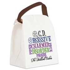 obsessivecharmedcolor Canvas Lunch Bag