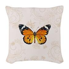 Monarch Woven Throw Pillow