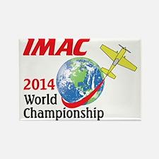 IMAC 2014 World Championships Rectangle Magnet
