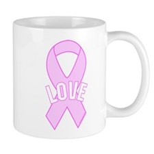 Pink Ribbon - Love Mug