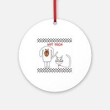 Vet Tech pillow Round Ornament