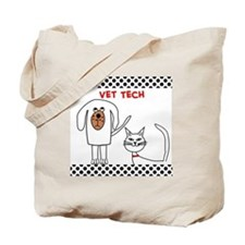 Vet Tech pillow Tote Bag