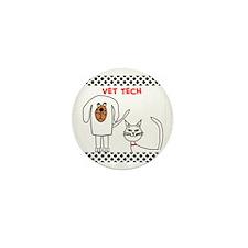 Vet Tech pillow Mini Button