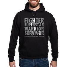 Hero Brain Tumor Survivor Hoodie